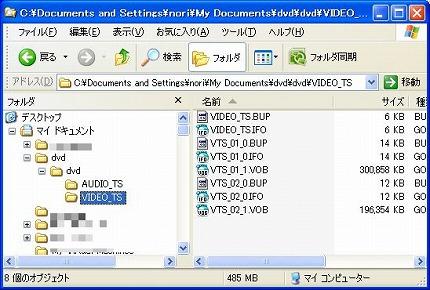 DVDメディア構造
